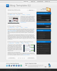 Blog Template 02 by rthaut