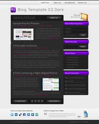 Blog Template 02 Dark