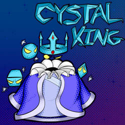 Crystal King by DefQDraws