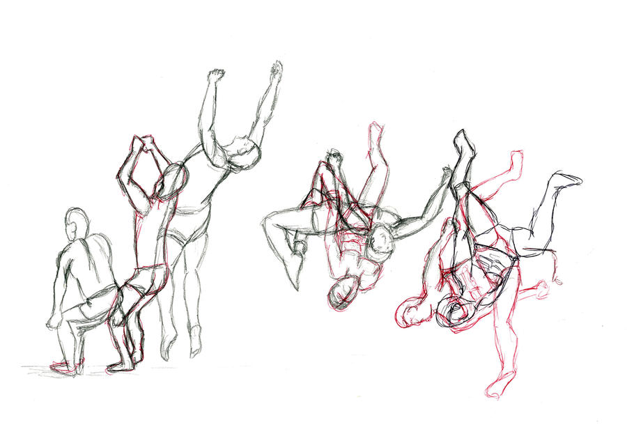 Body in motion by breyvan on deviantart for Body movement drawing