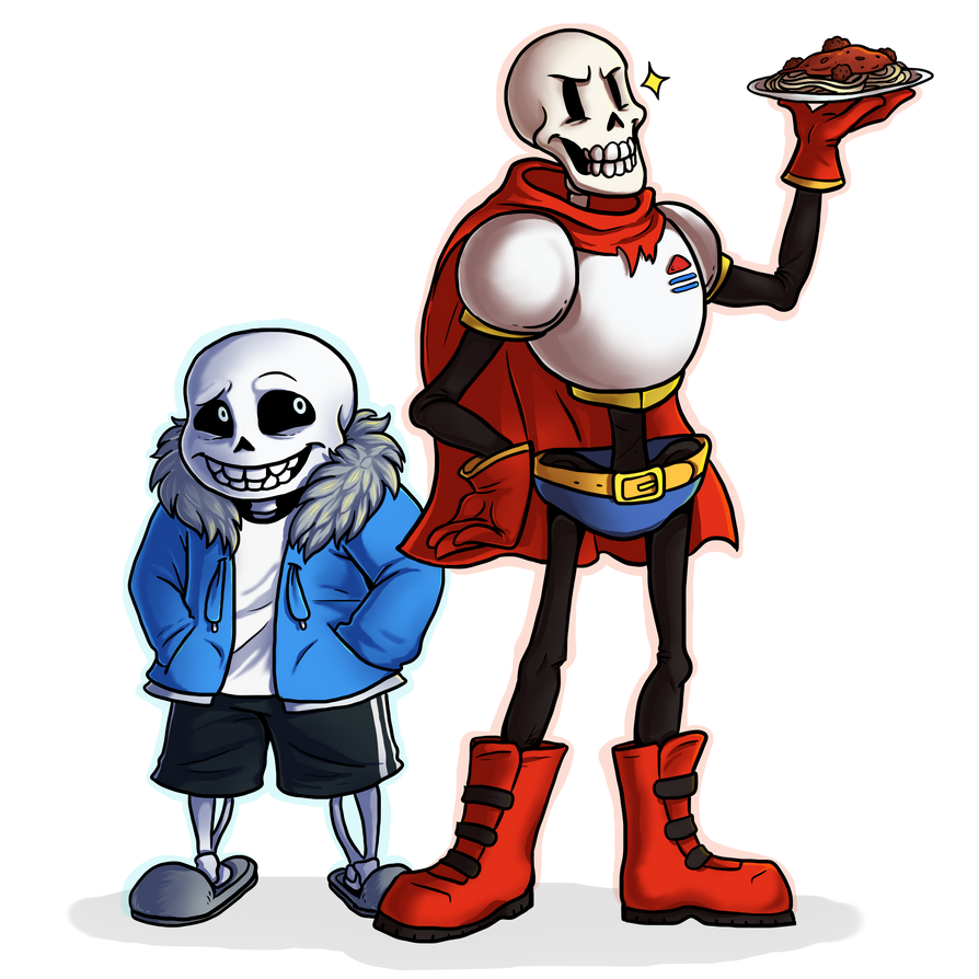 Sans and Papyrus by LazerSofa on DeviantArt
