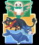 Pokemon Sun/Moon Starters