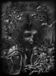 Magico-Oneiric Selfportrait by wuwejo