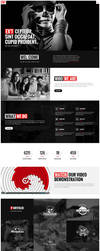 RED - One Page HTML5 Template by Themetorium