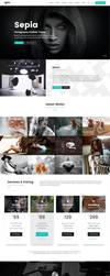 Sepia - Photography Portfolio HTML Website Templat by Themetorium