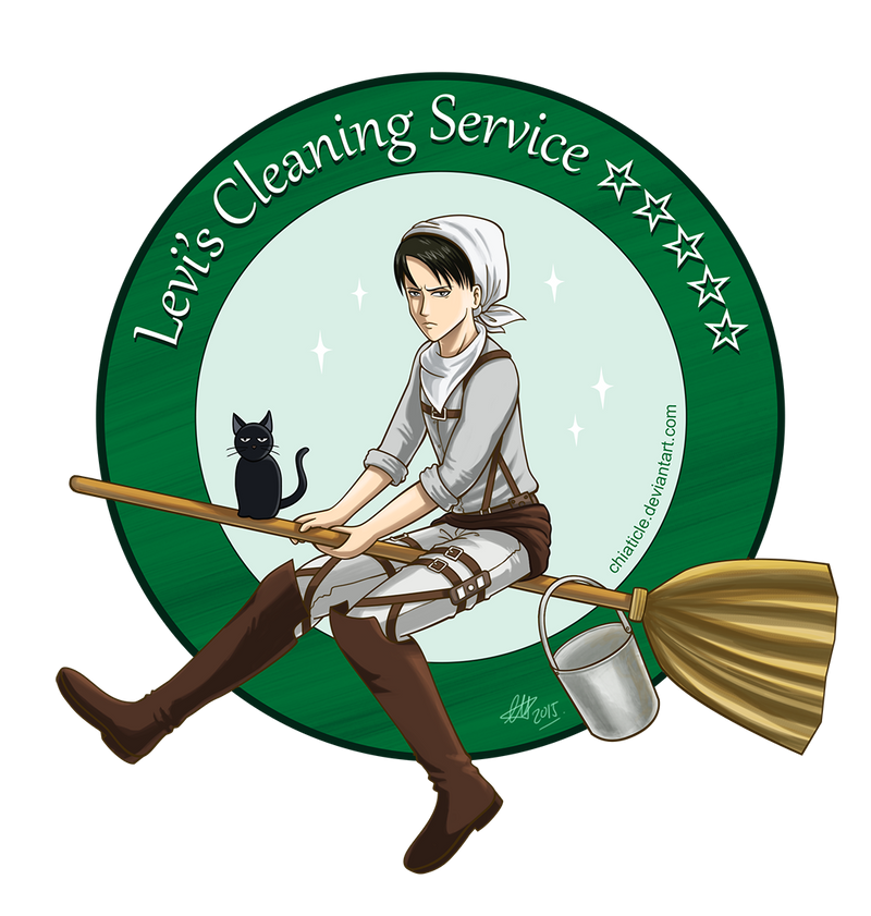 AOT: Levi's Cleaning Service by Chiaticle