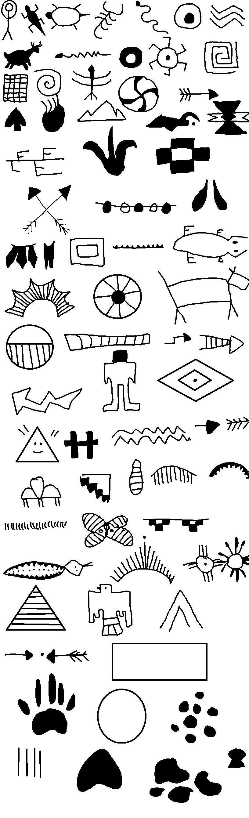 native american symbols by narutard277 on deviantart. Black Bedroom Furniture Sets. Home Design Ideas