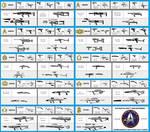 Star Trek Weapons. from 2150-2385