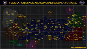 Star Trek, Star Map. by jbobroony
