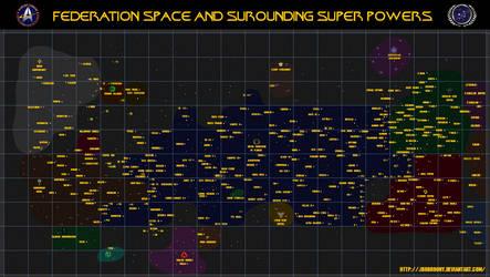 Star Trek, Star Map.