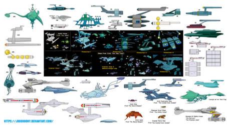 Ships from Star Trek Animated Series