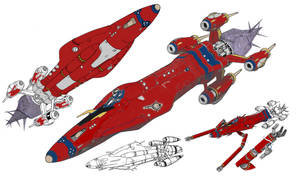 Outlaw Star Mod WIP by lordharshmage