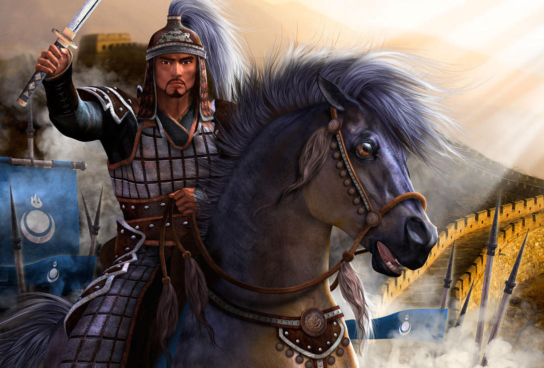 a biography and heroism of genghis khan a mongolian warlord For 30 years, genghis khan and his mongolian horde swept through asia, slaughtering over one-tenth of the people on earth and conquering nearly one-quarter.