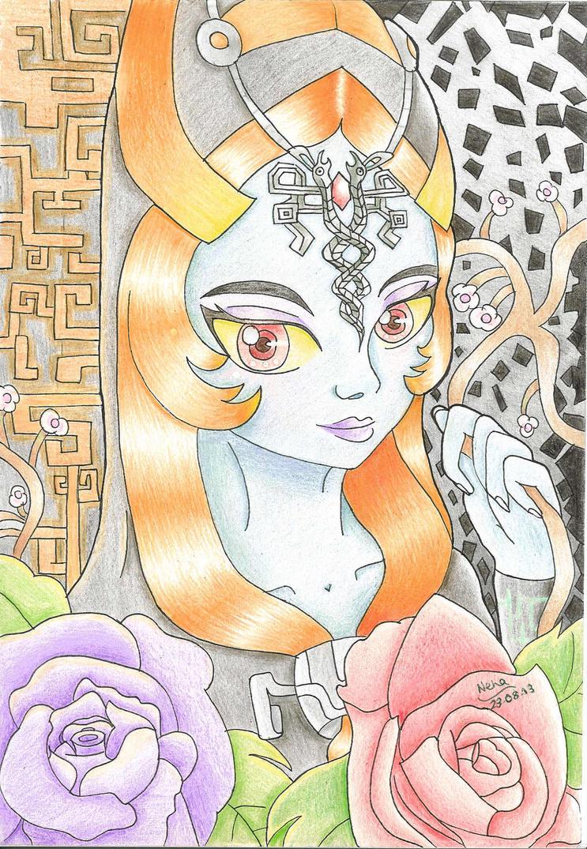 Legend of Zelda: Twilight Princess Midna by SugarBubbles2000