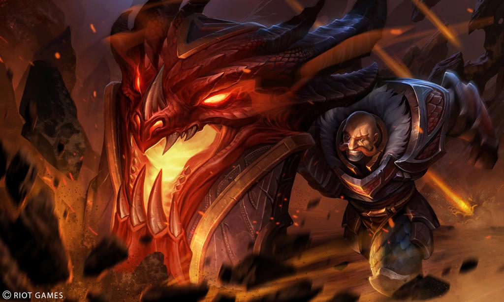 Dragonslayer Braum Splash by Yideth on DeviantArt