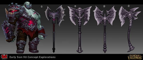 Sion Visual Update Explorations by Yideth