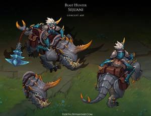 Beast Hunter Sejuani