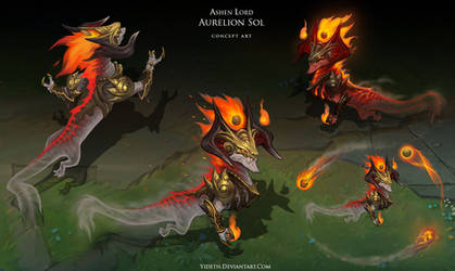 Ashen Lord Aurelion Sol