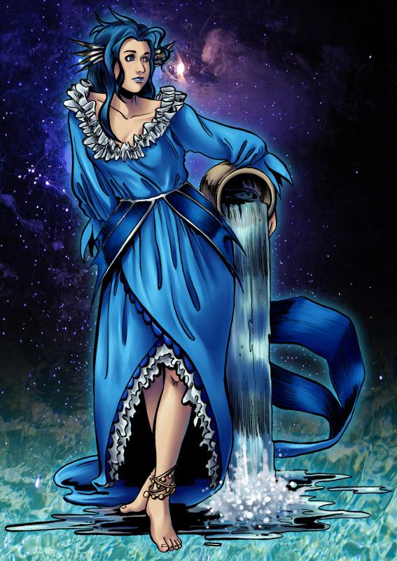 Alf Img  Showing &gt Female Aquarius Water Bearer
