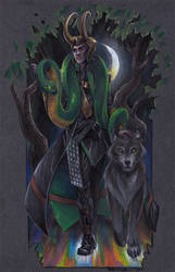 Loki's children by taintedsilence