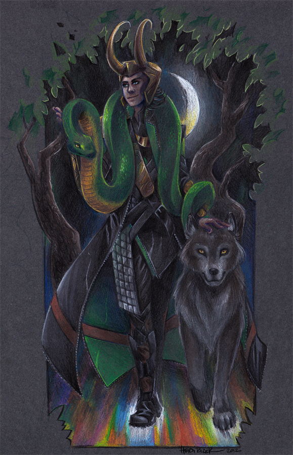 Loki's children by taintedsilence on DeviantArt