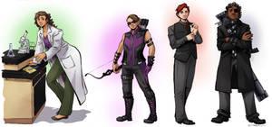 Genderswap Avengers 2.0 by taintedsilence