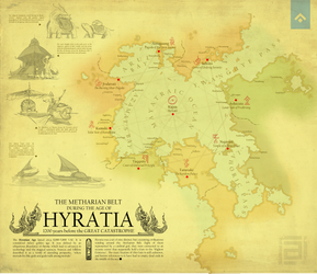 adia | Map of the Hyratian Age by rajavlitra