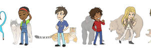 animorphs: stickers by LizCoshizzle