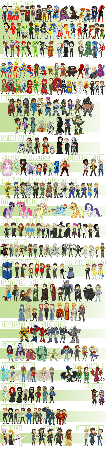 stickers: full poster by LizCoshizzle