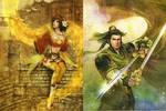 liu bei and sun shang xiang
