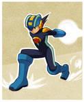 Megaman dynamic pose