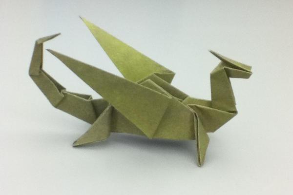 Origami Dragon by shawk77 on DeviantArt