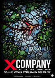 X COMPANY POSTER ILLUSTRATION BY KELLY BLAKE