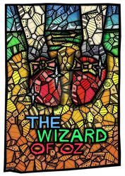WIZARD OF OZ MOVIE POSTER BY KELLY BLAKE