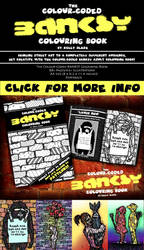 The Color-Coded BANKSY Adult Colouring Book
