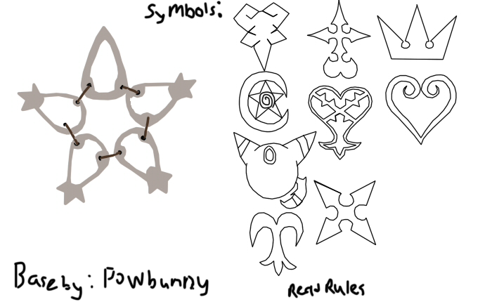 Keyblade Coloring Pages