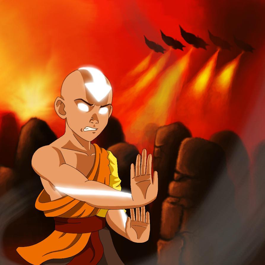 Movie Avatar State Aang: Avatar TLA: Avatar State V2 By Regalblue30 On DeviantArt