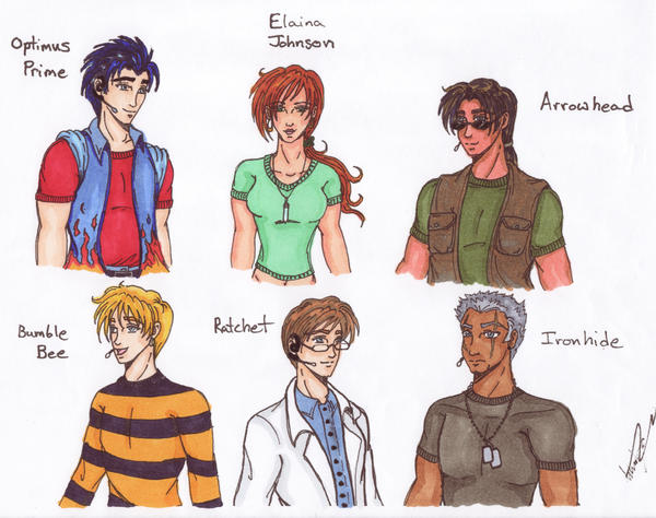 Transformers Prime as Humans