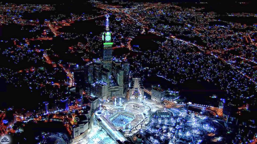 Night Beautiful Makkah Kabah Mecca Saudi Arabia By Waytoallah On Deviantart