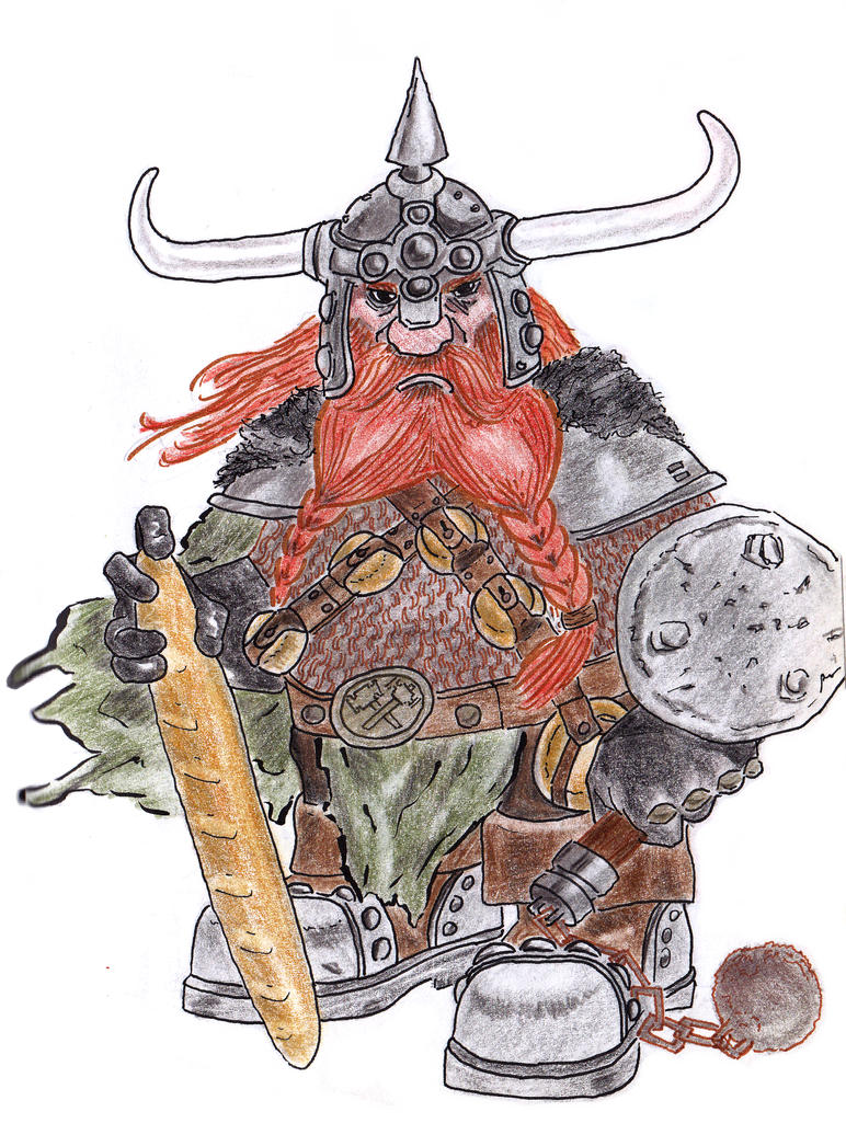 B'hrian Bloodaxe by ArminiusWillabert