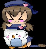 .:Gift:. Misa and Pika-Tan! by Creepy-Chann
