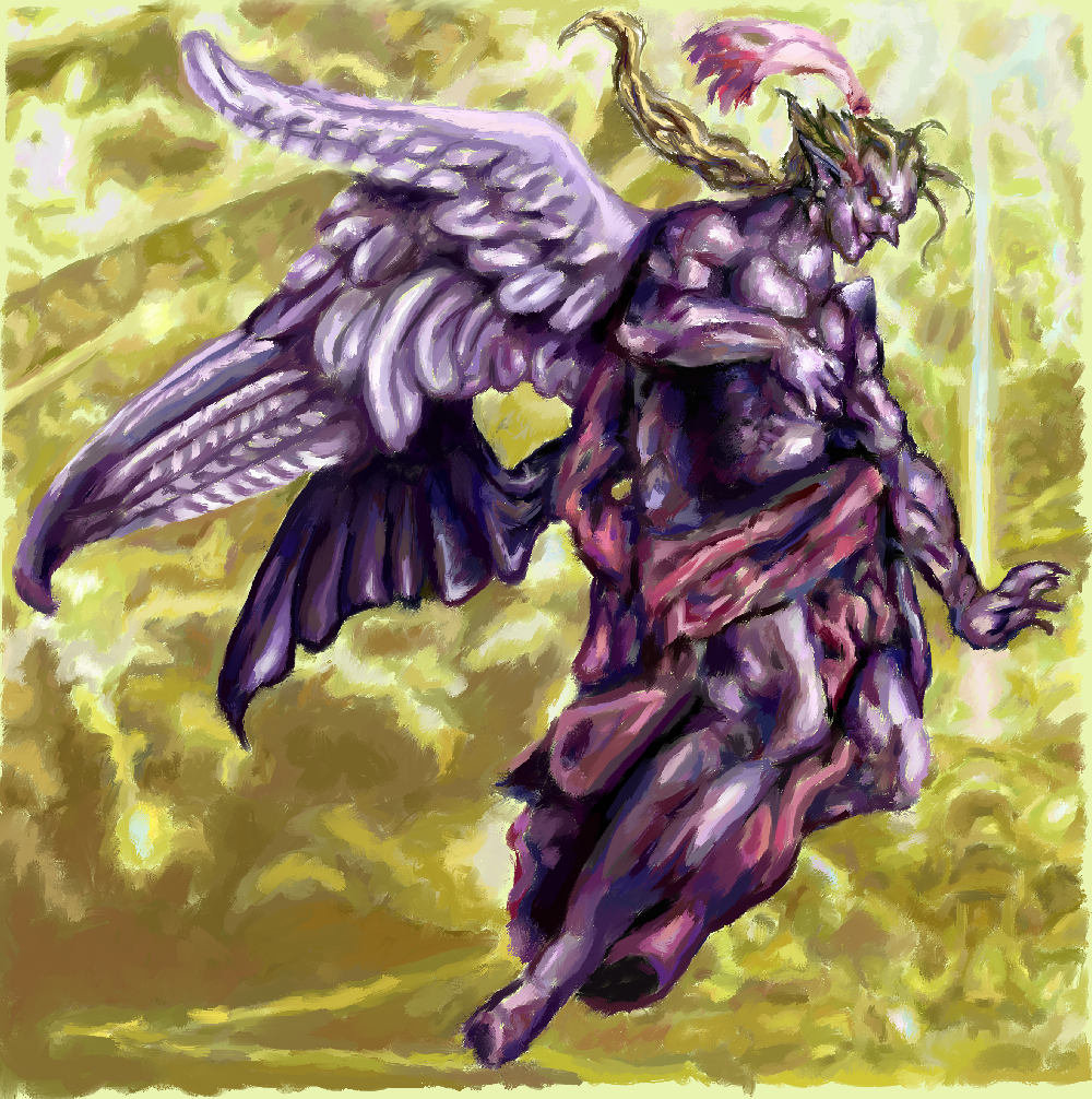Avatar of the Laughing God Kefka___final_form_by_Sarifus