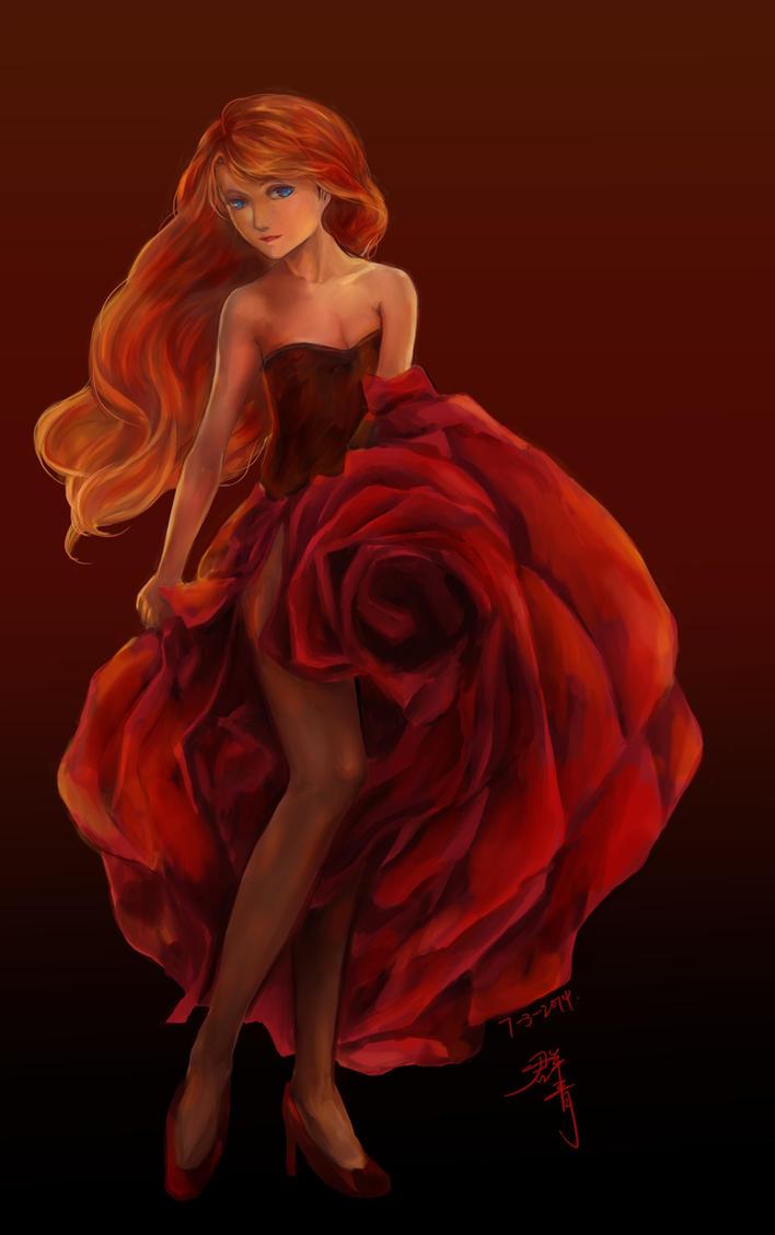 flamenco dancer anna by phoebelin001 on deviantart