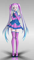 [TDA] Pinky_blue Miku DL
