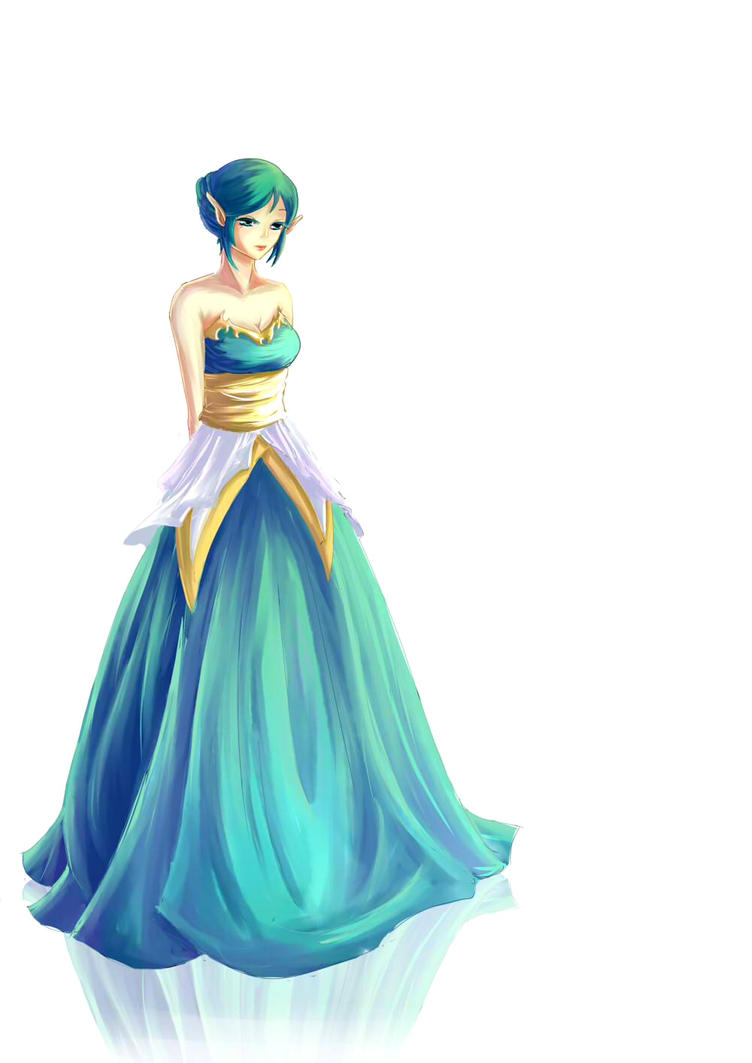 DRA: Ball Gown by H-naaa on DeviantArt