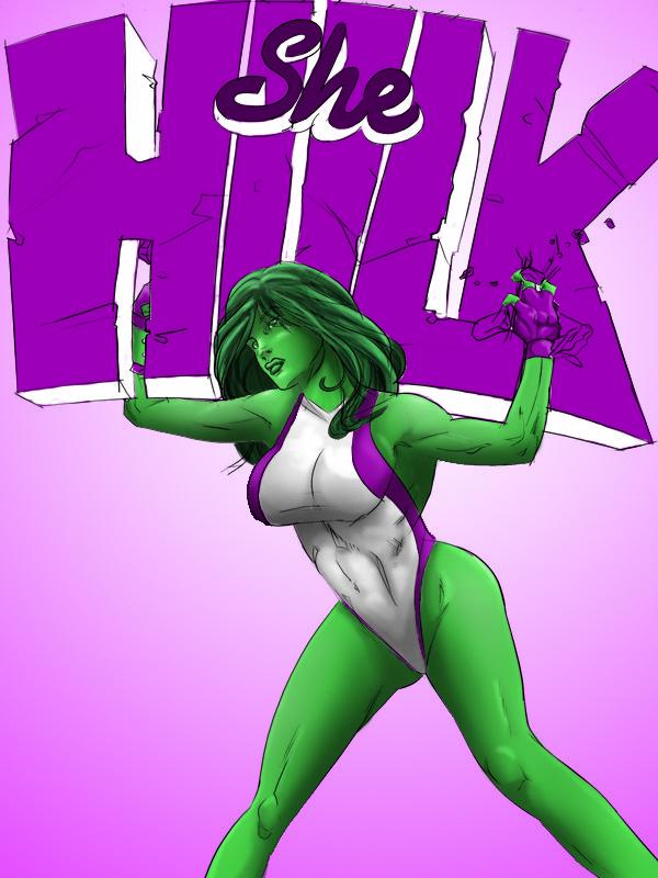 She Hulk by Burk1337