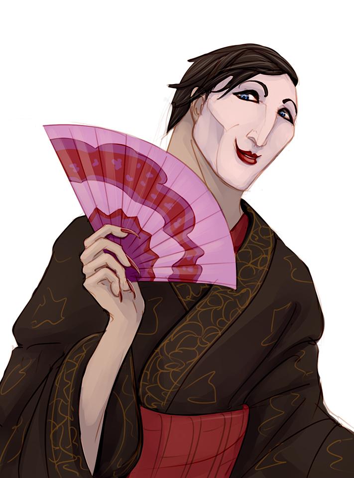 Proto Geisha by Carnie-Vorex