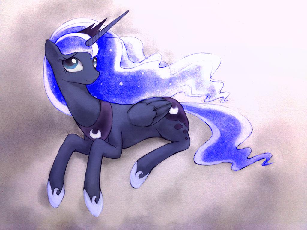 Luna by scarletvye