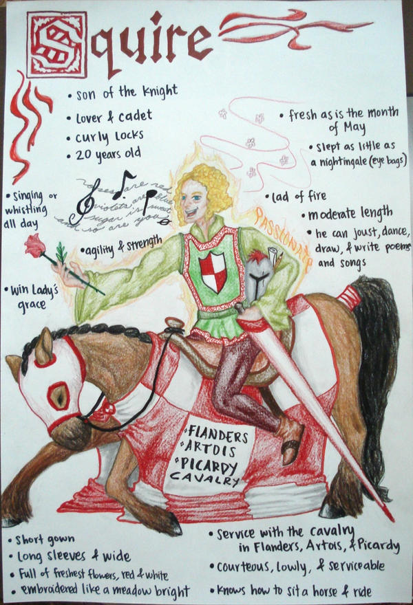 Squire canterbury tales