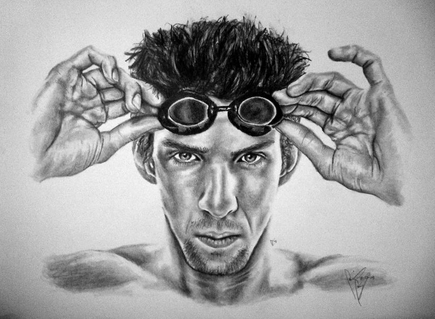Michael Phelps by kekumbaz